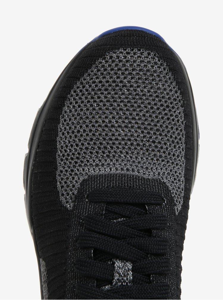 Šedo-černé pánské žíhané tenisky Camper Drift