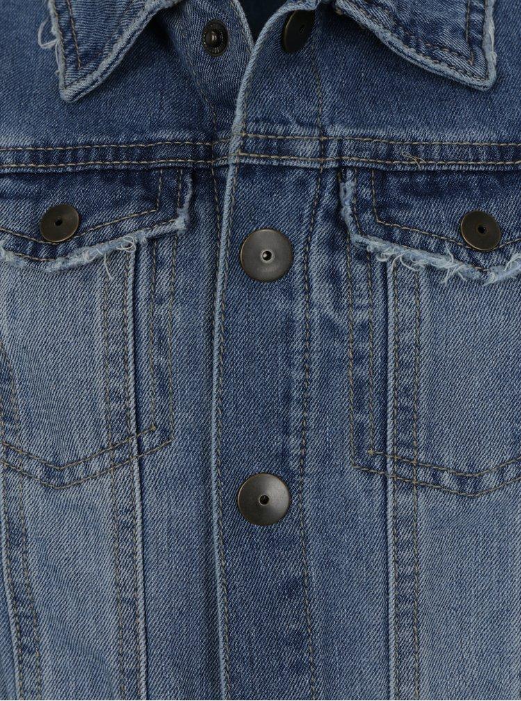 Modrá klučičí džínová bunda name it Terrence