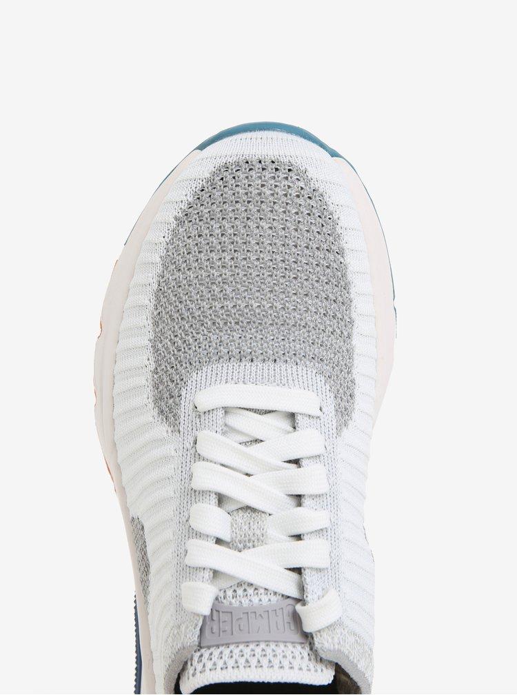 Šedo-bílé dámské žíhané tenisky Camper Drift
