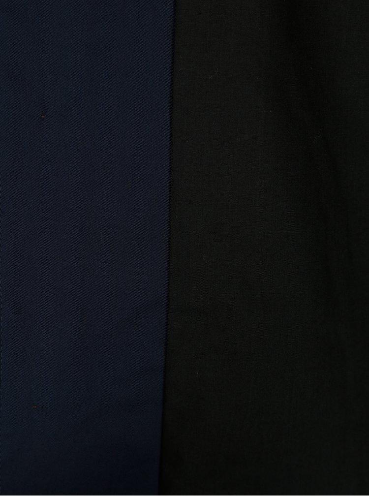 Tmavě modrý kabát SUIT Sylvester