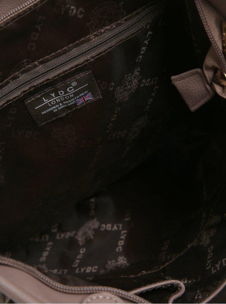 Starorůžová kabelka s třásněmi LYDC