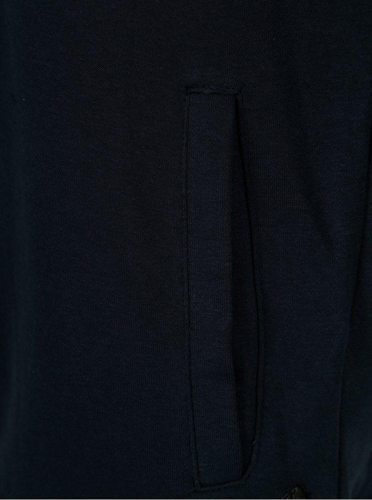 Tmavě modrá mikina s kapucí Casual Friday by Blend