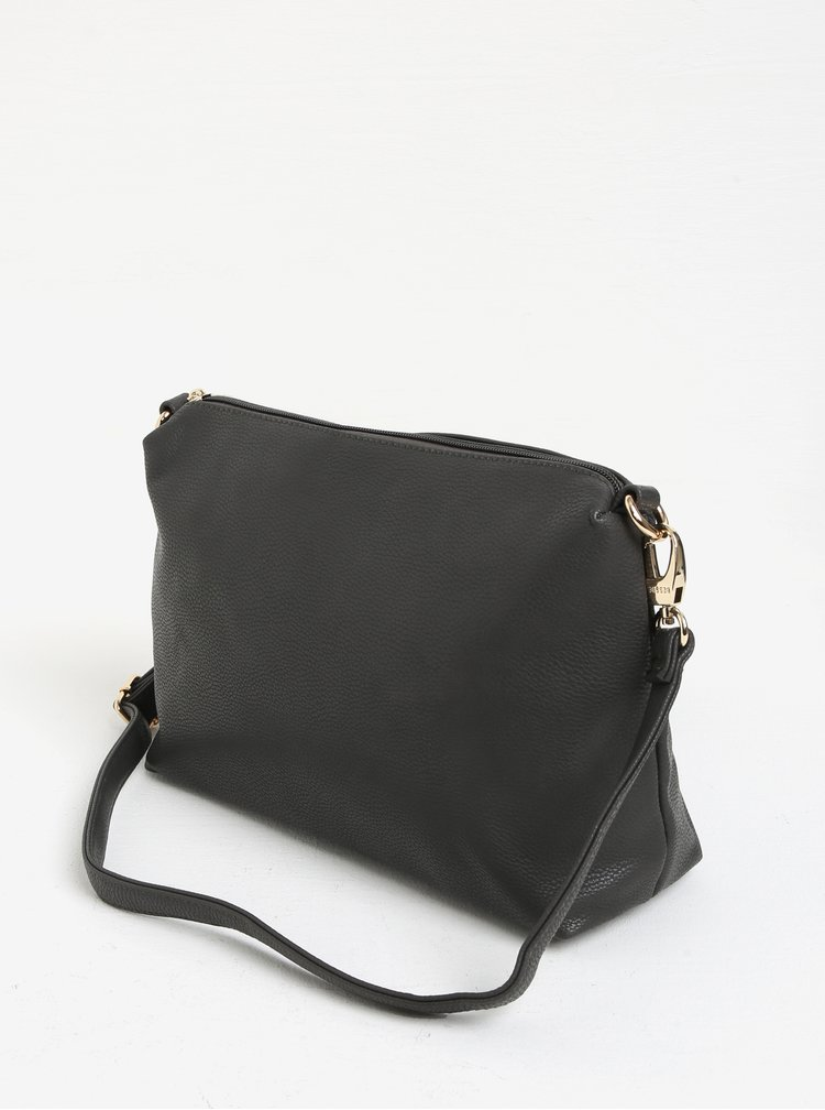 Šedý shopper s crossbody kabelkou 2v1 Bessie London