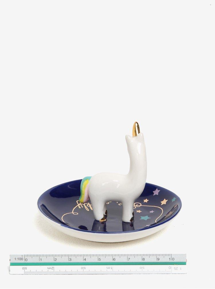 Suport bleumarin pentru bijuterii in forma de unicorn - Disaster Candy Pop