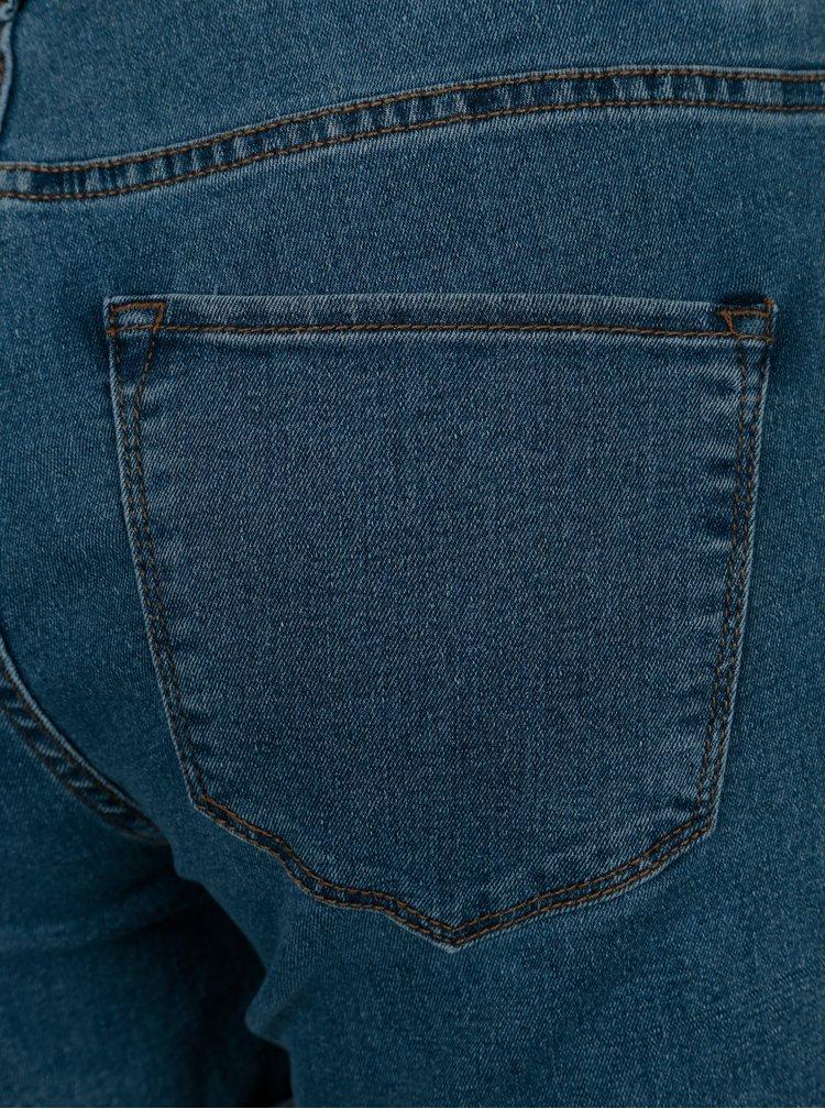 Modré džínové kraťasy VERO MODA Seven