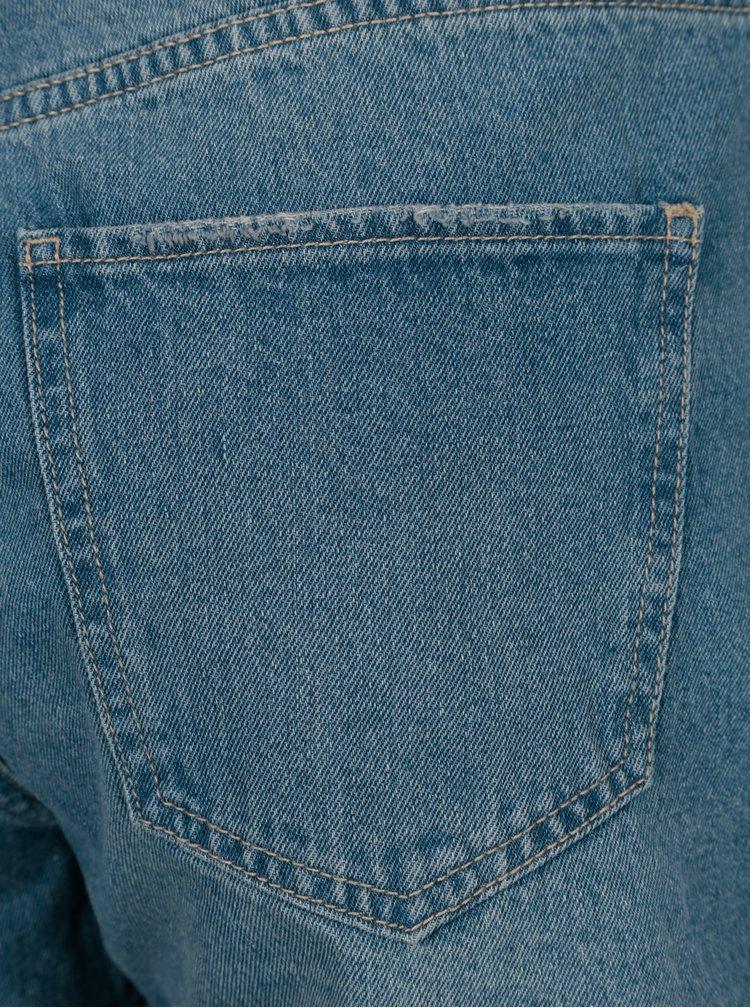 Světle modré džínové kraťasy VERO MODA Nineteen