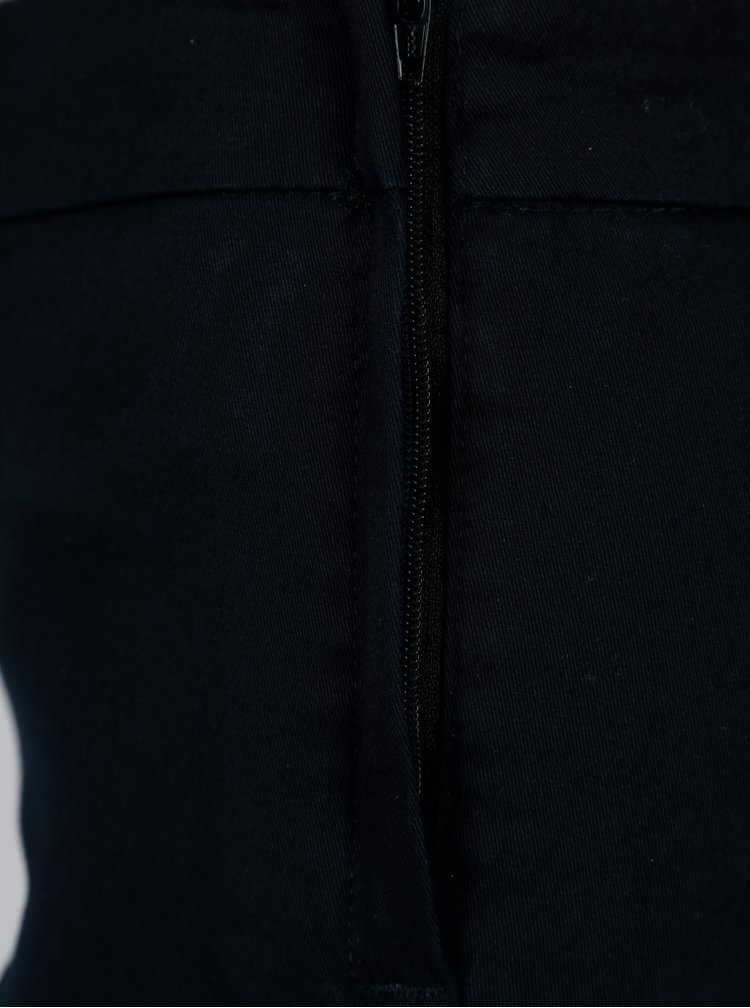Tmavě modré kalhoty Jacqueline de Yong