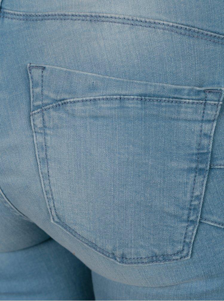 Blugi albastru deschis skinny fit cu efect push up - ONLY Allan