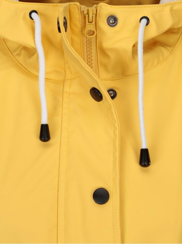 Žlutá pláštěnka s kapucí VERO MODA Sunset