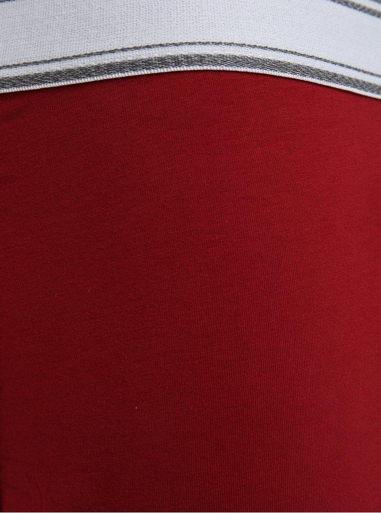 Sada tří boxerek v modré, šedé a červené barvě Burton Menswear London