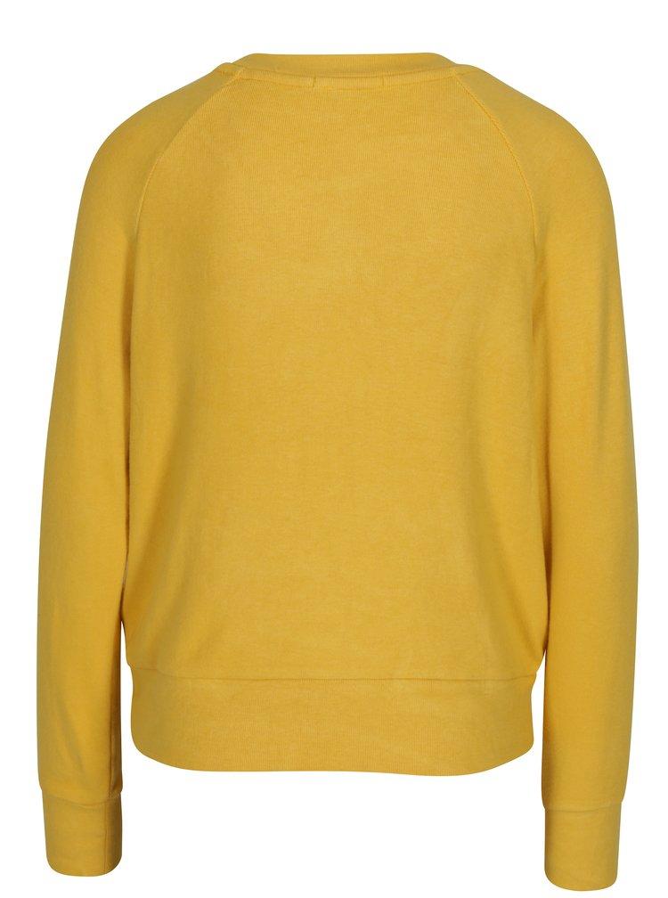Žluté tričko s dlouhým rukávem TALLY WEiJL