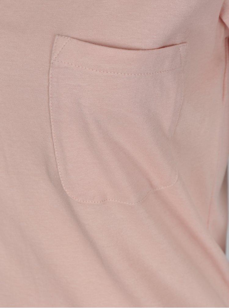 Růžové tričko TALLY WEiJL