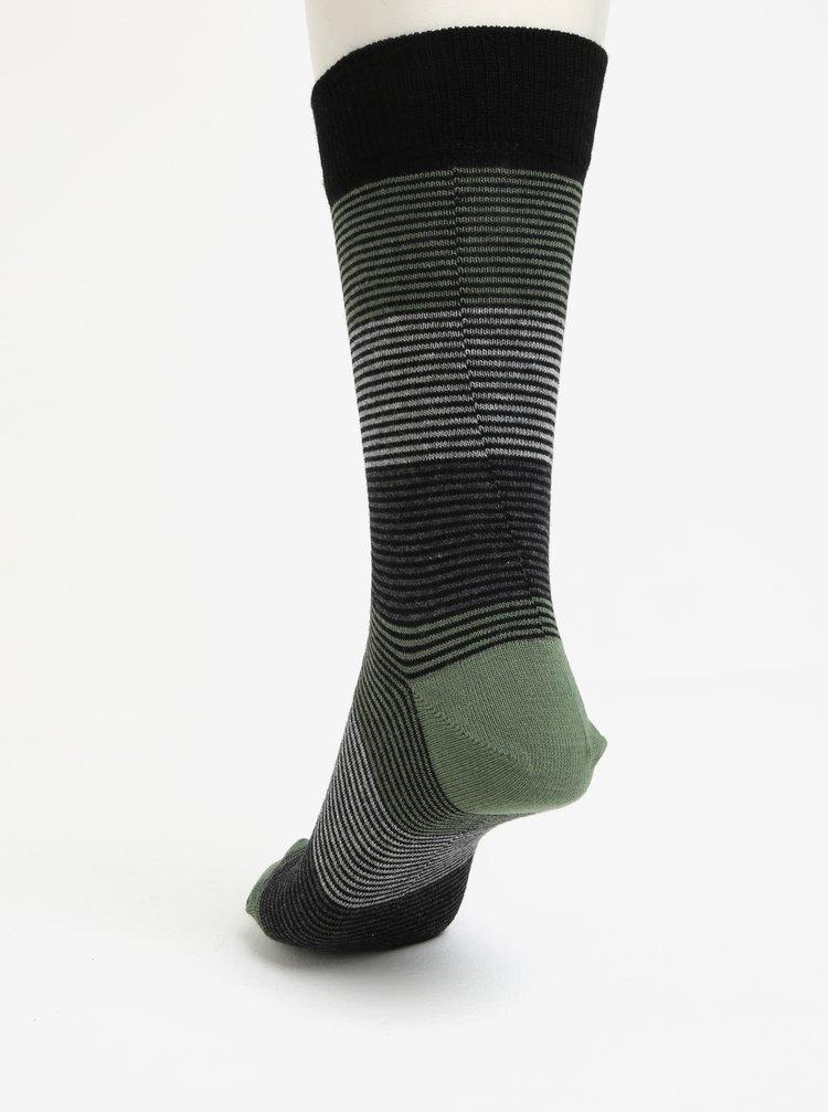 Sada pěti páru pruhovaných ponožek Burton Menswear London