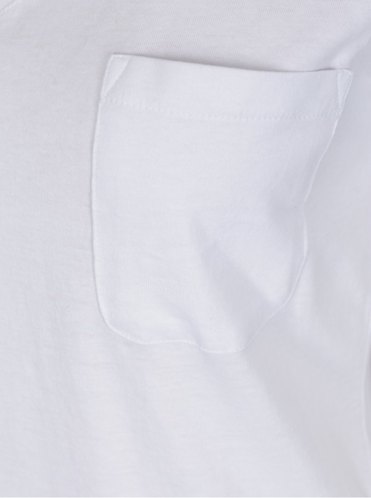 Bílé tričko s kapsou TALLY WEiJL