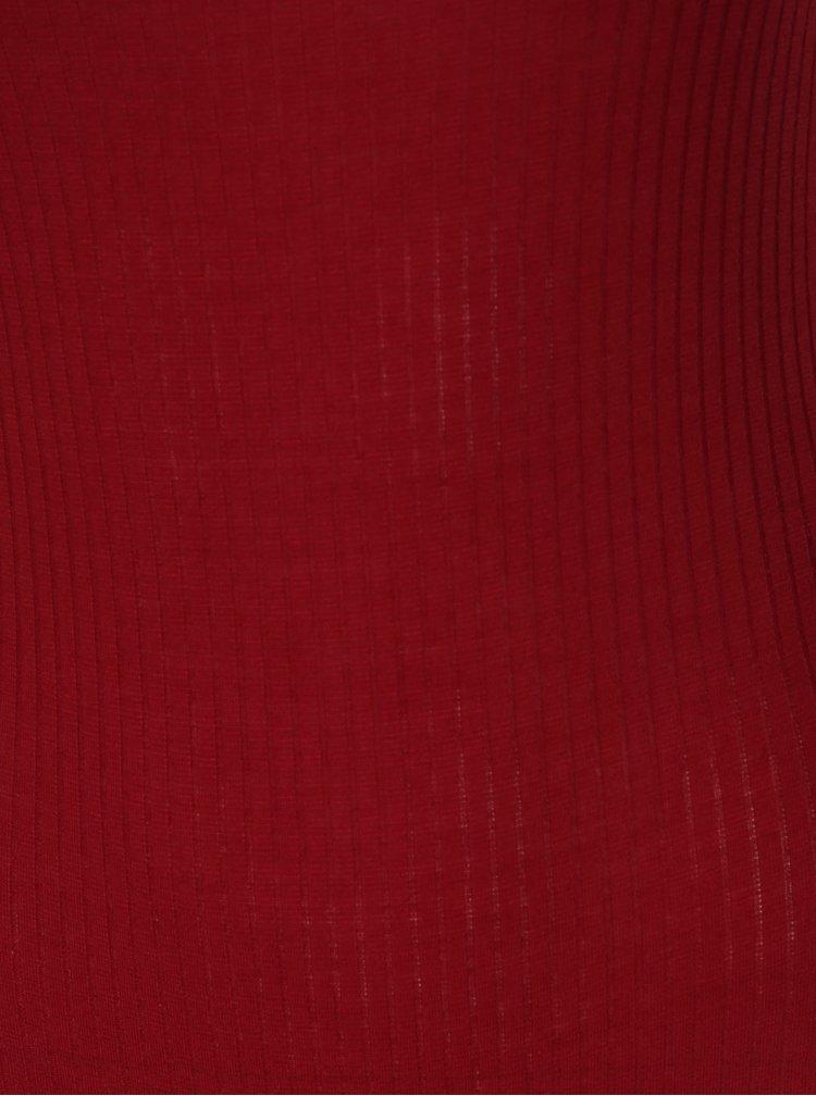 Červené žebrované body TALLY WEiJL