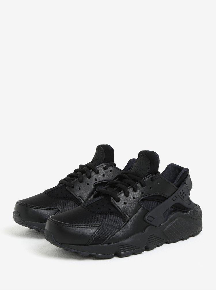 Čierne dámske tenisky Nike Air Huarache Run