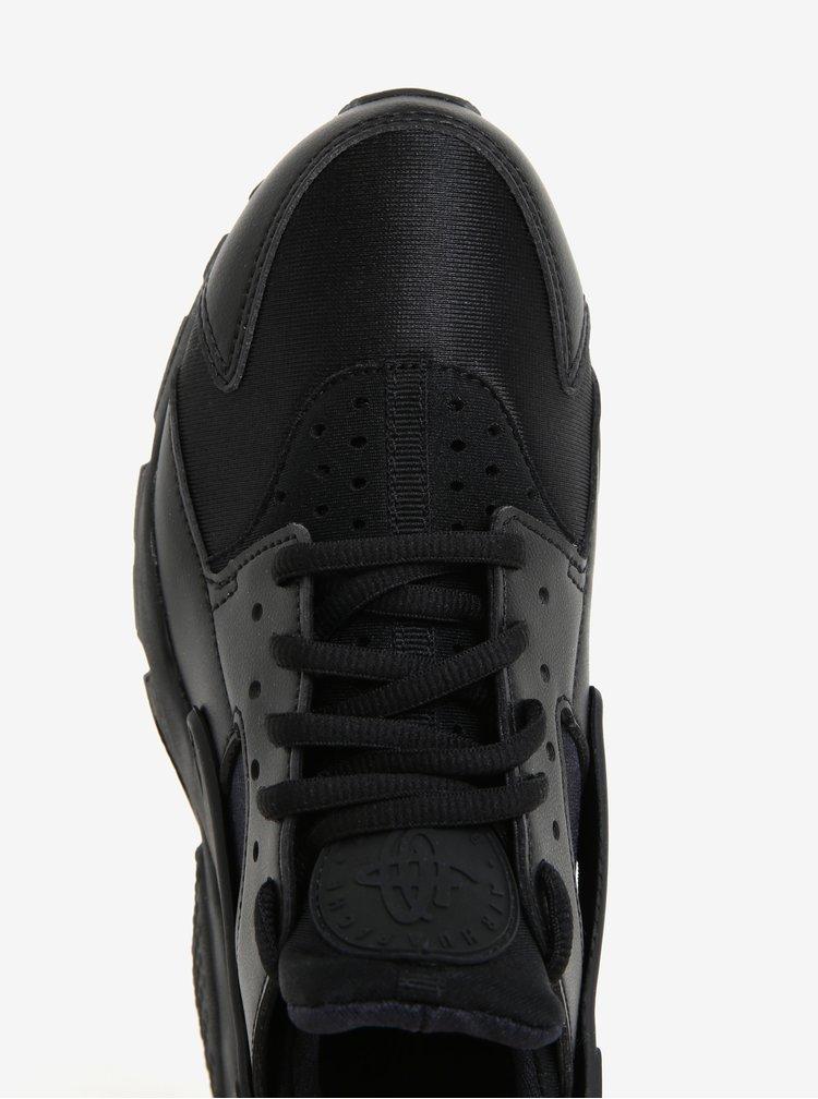 Pantofi sport negru pentru femei Nike Air Huarache Run