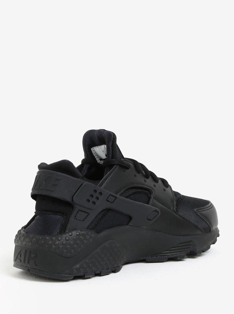 Černé dámské tenisky Nike Air Huarache Run
