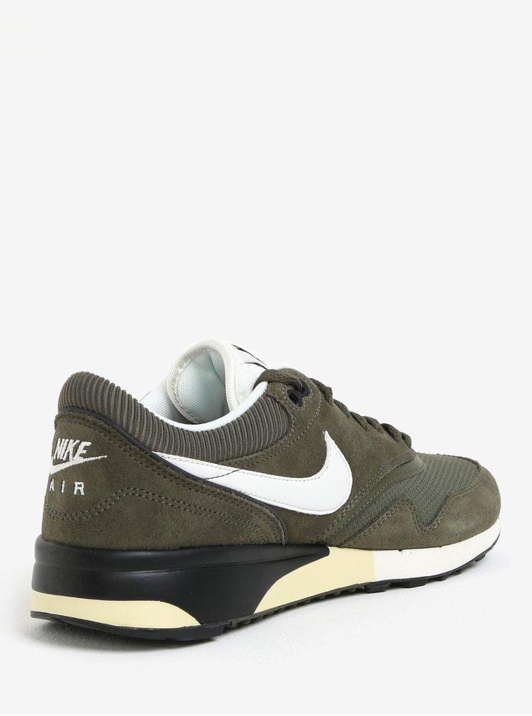 Khaki pánské tenisky se semišovými detaily Nike Air Odyssey
