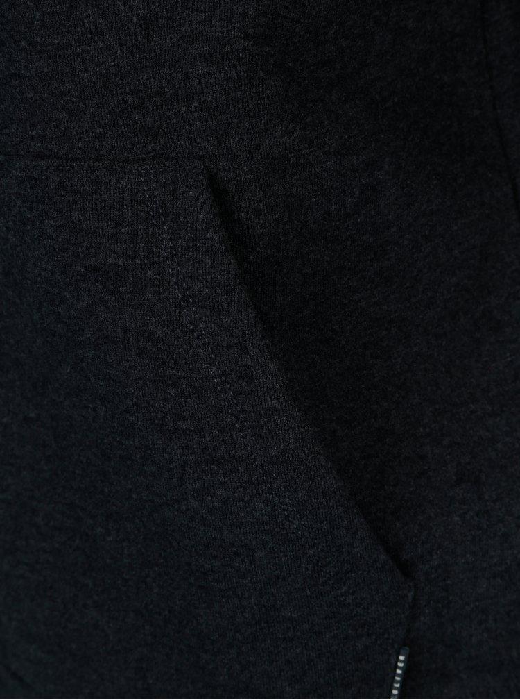Tmavě modrá pánská mikina s potiskem s.Oliver