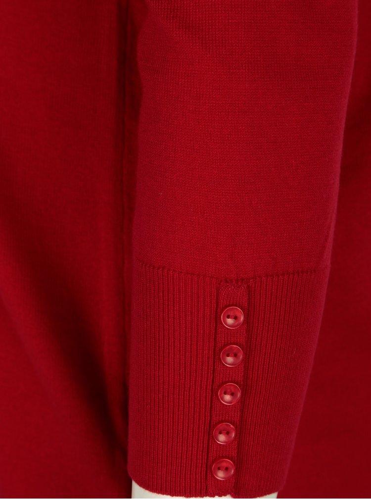 Červený svetr Ulla Popken