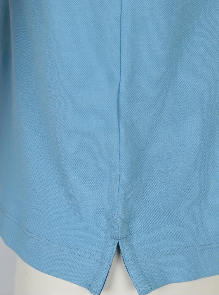 Tricou polo albastru slim fit  pentru barbati s.Oliver