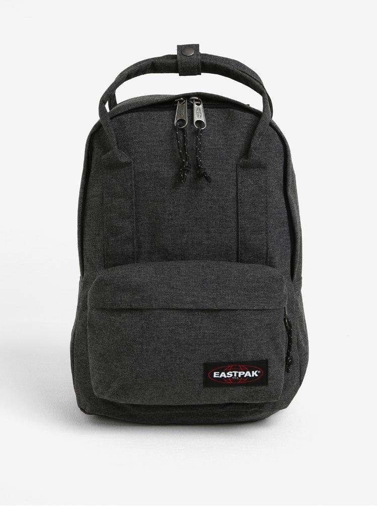 Tmavě šedý batoh s uchy do ruky Eastpak Padded Shop´r 15 l