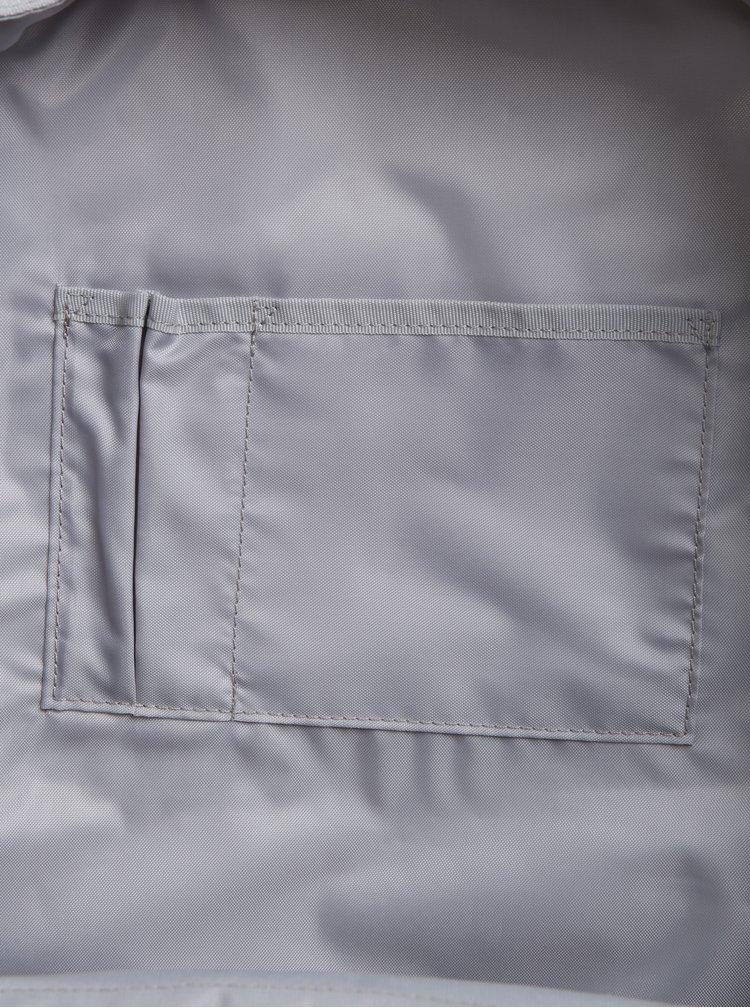 Světle šedý batoh Eastpak Hutson 27 l