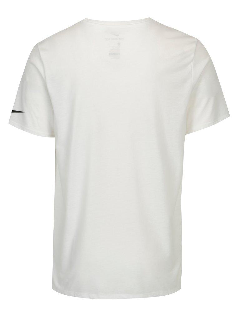 Bílé pánské tričko s potiskem Nike