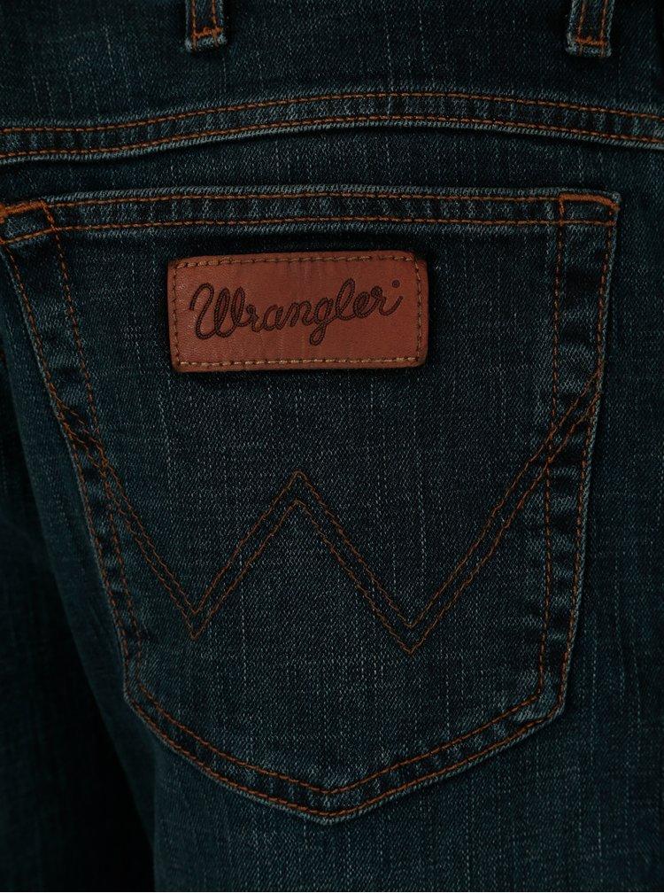 Blugi bleumarin straight pentru barbati - Wrangler Texas