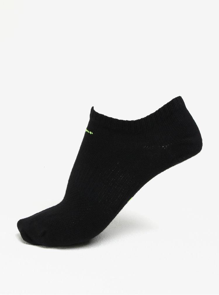 Sada šesti párů dámských v černé barvě Nike