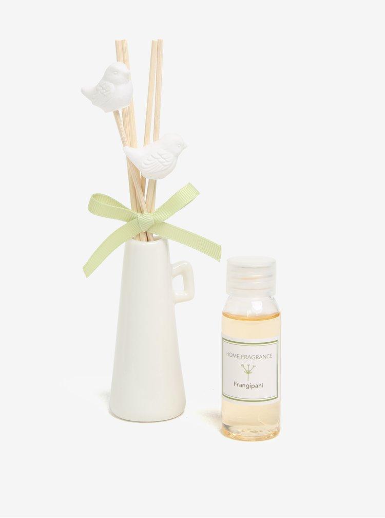 Set cadou cu difuzor cu betisoare parfumate - Frangipanii Dakls