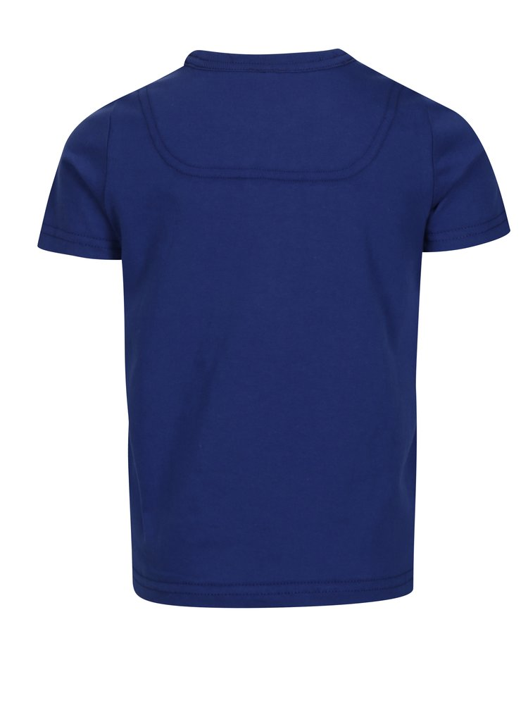 Modré klučičí tričko s potiskem Tom Joule Ben