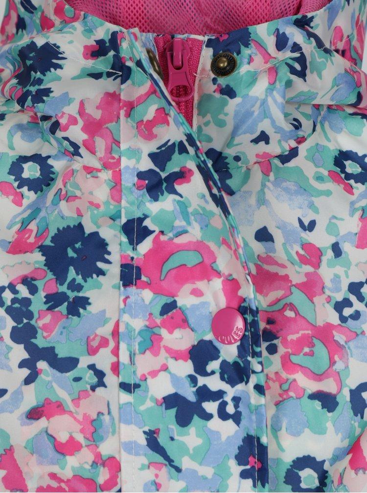 Bílá holčičí květovaná pláštěnka Tom Joule Golightly