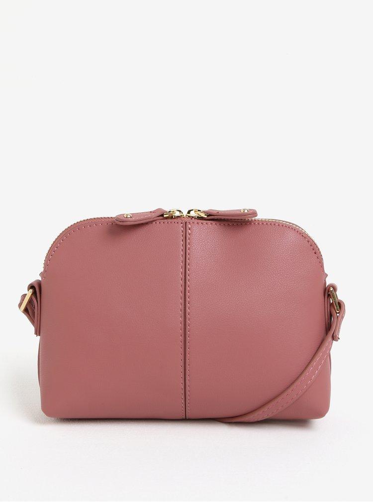 Růžová crossbody kabelka Dorothy Perkins