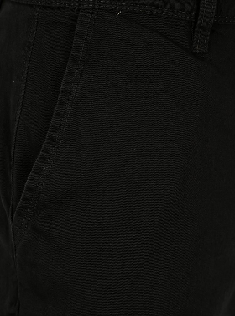 Pantaloni scurti chino negri pentru barbati - Quiksilver
