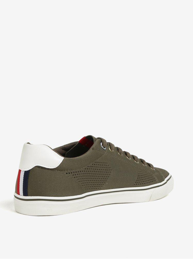 Pantofi sport kaki cu perforatii s.Oliver