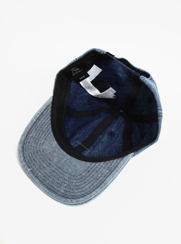 Sapca din denim albastra cu logo  Quiksilver