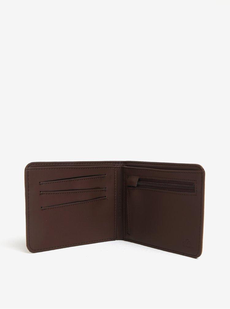 Světle hnědá pánská peněženka Quiksilver