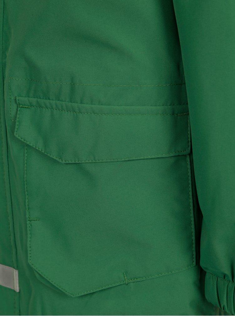 Zelená klučičí voděodolná funkční bunda s kapucí Lego Wear Jakob