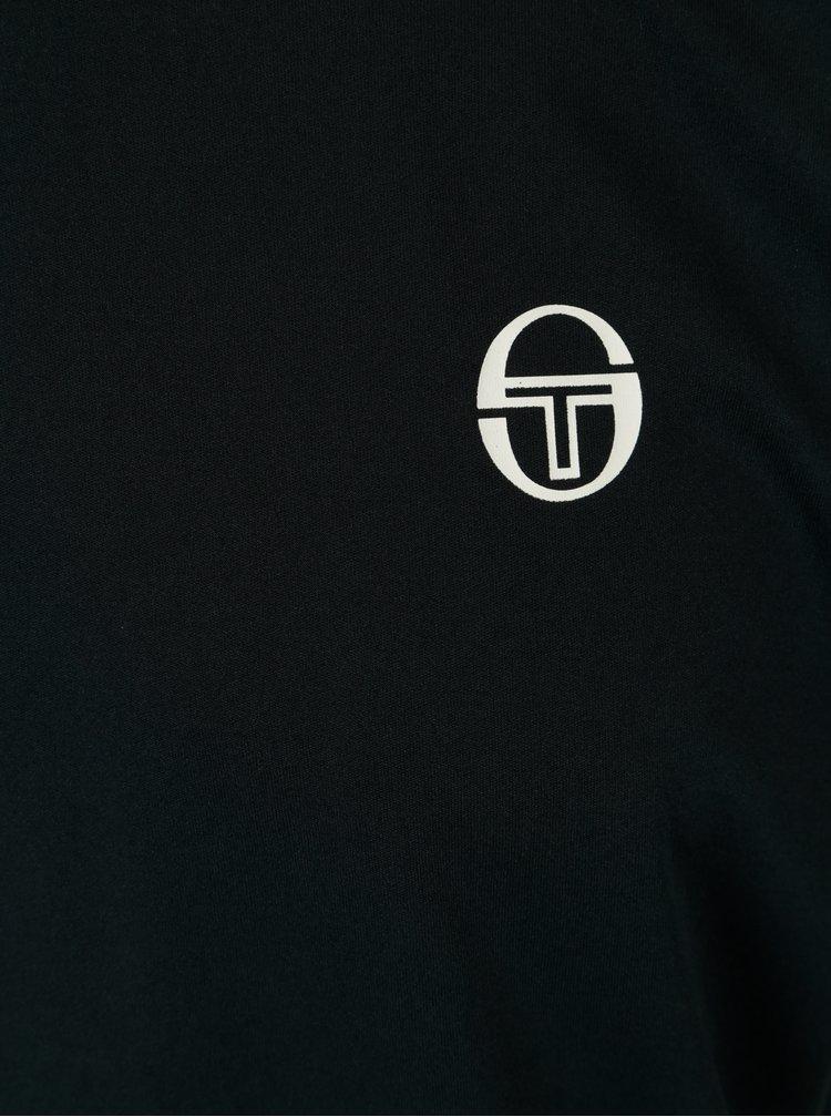 Tmavě modré pánské sportovní tričko s dlouhým rukávem Sergio Tacchini Club Tech