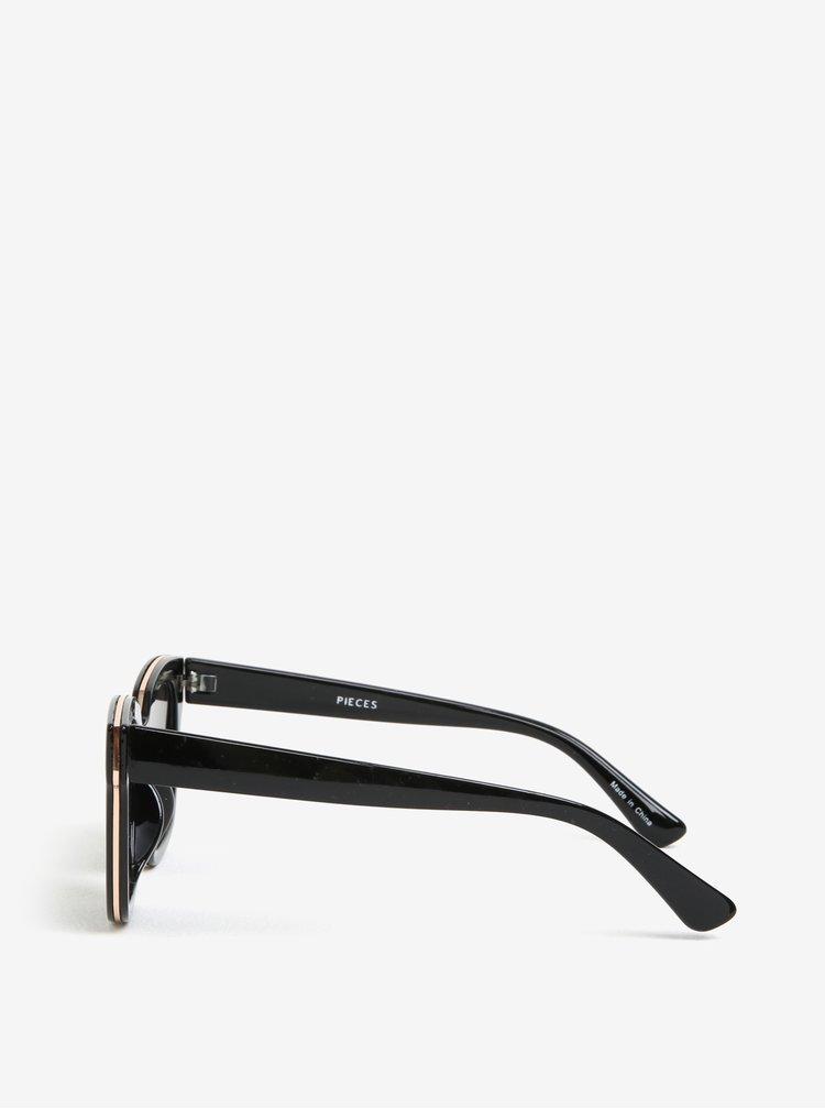 Ochelari de soare negri - Pieces Marline