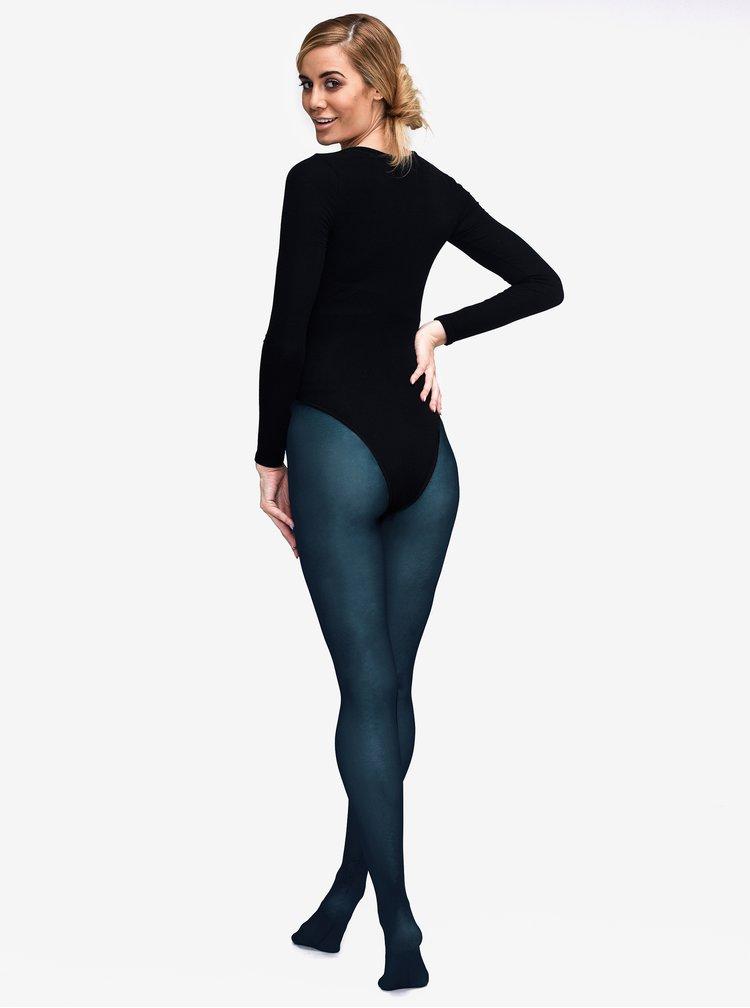Tmavě modré punčochové kalhoty Andrea Bucci 80 DEN