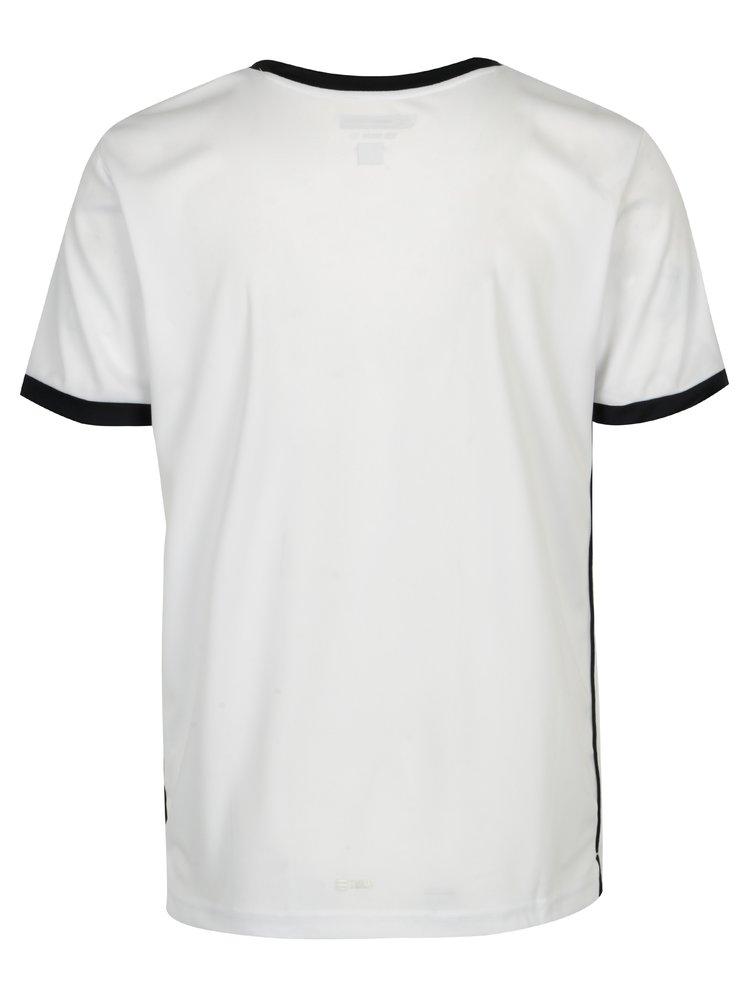 Tricou alb cu garnitura bleumarin Sergio Tacchini Club Tech