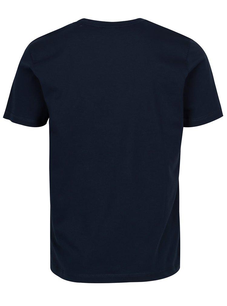 Tmavě modré pánské tričko Sergio Tacchini Robin