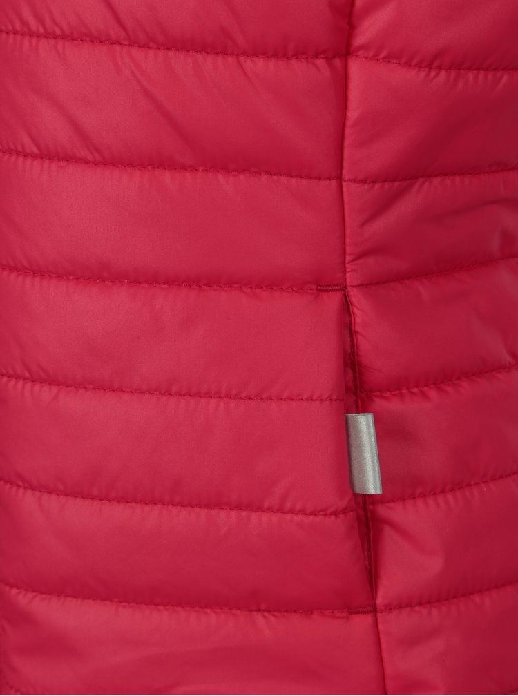 Růžová holčičí prošívaná vesta Lego Wear Jamila