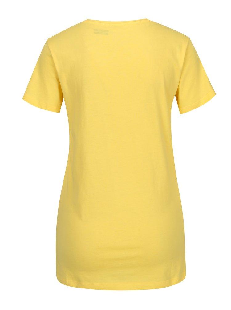 Žluté dámské tričko Sergio Tacchini Orafa