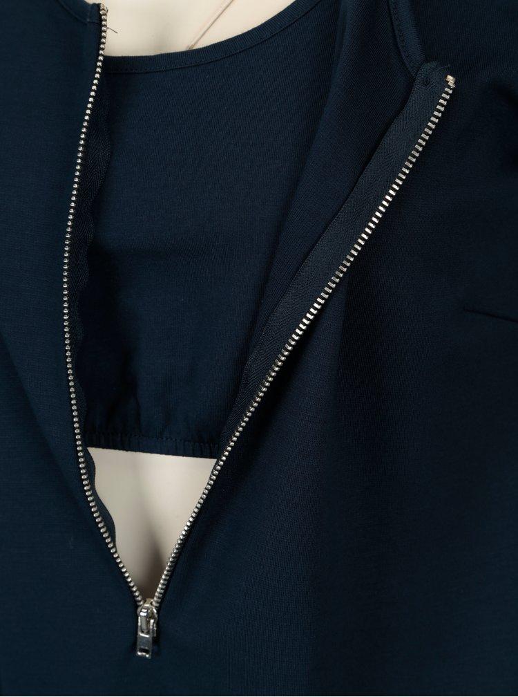 Tmavě modré kojicí šaty Mama.licious Carla