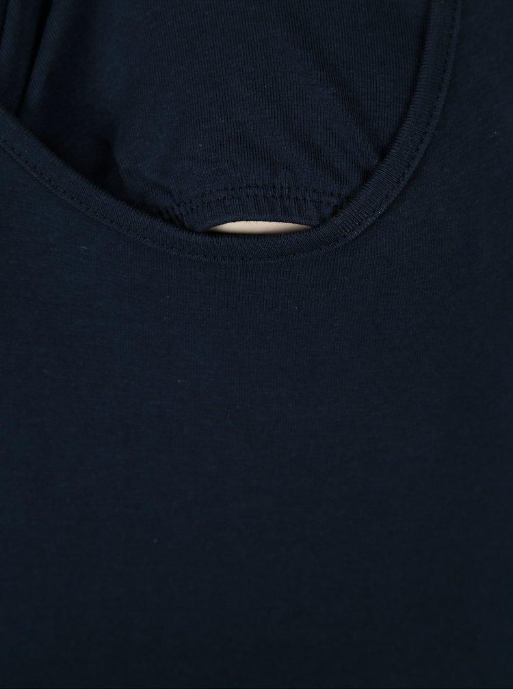 Tmavě modré kojicí tričko Mama.licious Phie