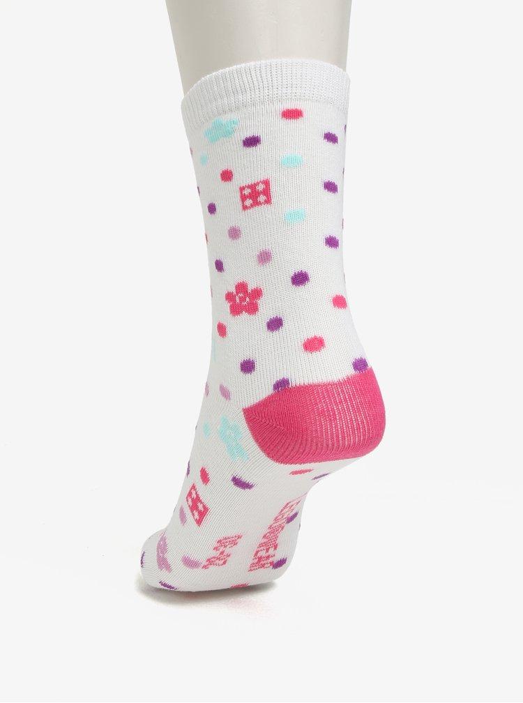 Sada tří párů holčičích vzorovaných ponožek Lego Wear Agata